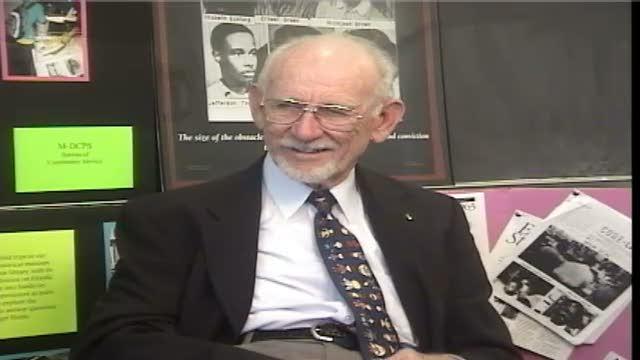 G. Holmes Braddock. Interview # 2