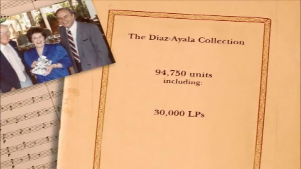 The Diaz-Ayala Cuban and Latin American Popular Music Collection