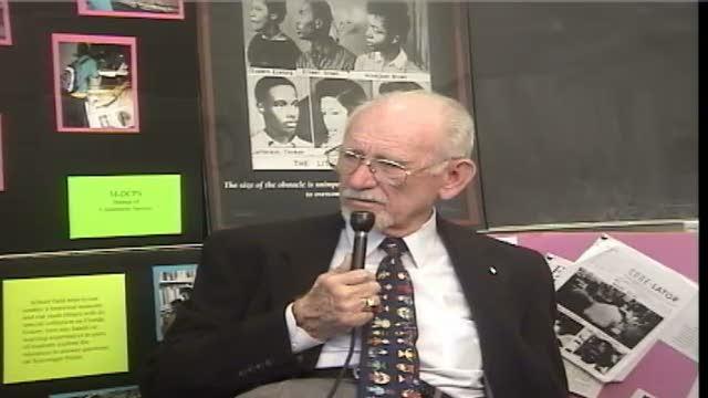 G. Holmes Braddock. Interview # 1