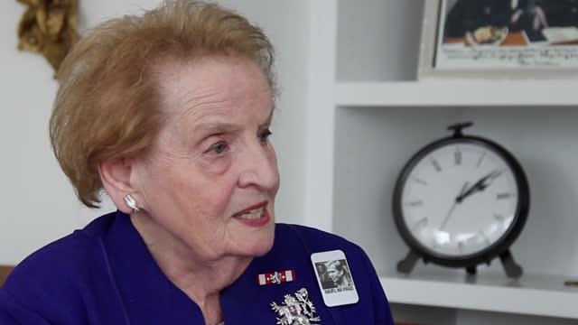Havel Conversations - Interview with Madeleine Albright