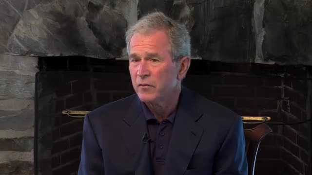 Interview with George W. Bush and George H.W. Bush